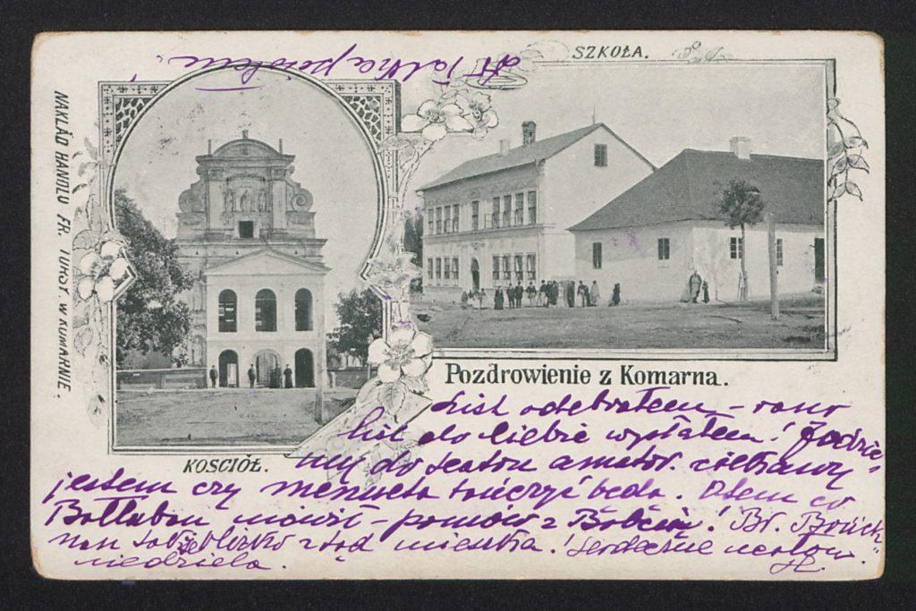 Komarno, Lwow Oblast - 1905