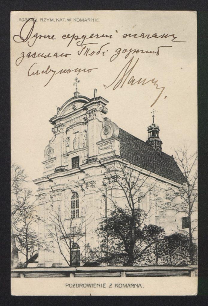 Komarno, Lwow Oblast, 1906