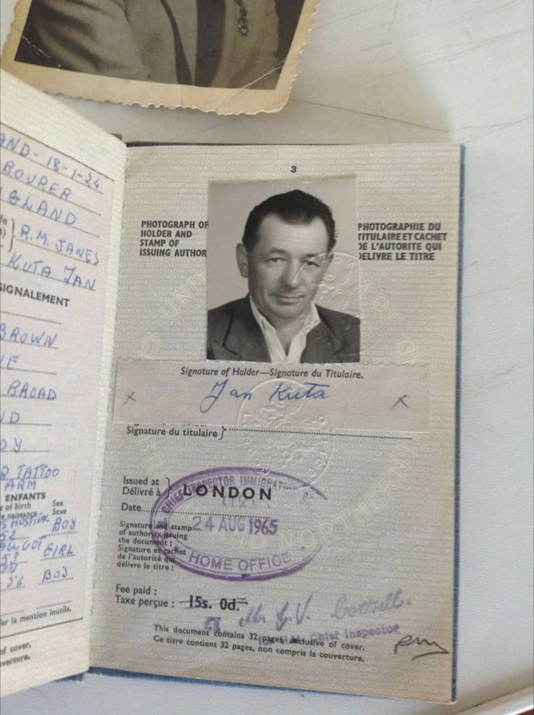 Jan Kuta Official Travel Documents