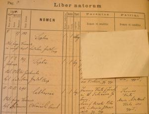 Birth - 1890 Feb 12th - Katarzyna Kuta - Komarno