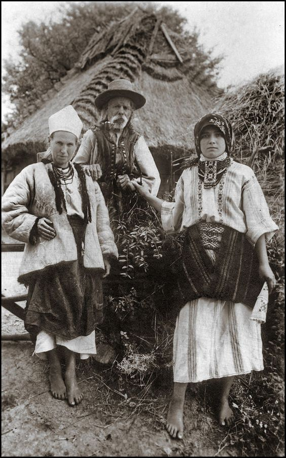 Galicia 1920 - Eastern Europe / Antique Image / Galician