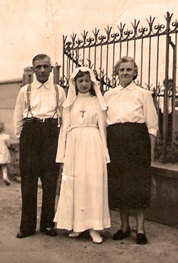 Michal and Katarzyna Kuta with their daughter Zofia
