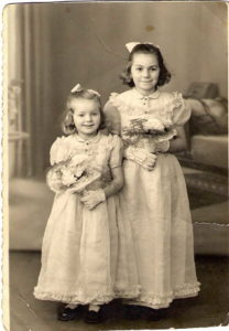 Left to Right / Jenifervf and Joelle Lopez are sisters and the daughters off Edward Lopez and Zofia Kuta. Photo taken in France They are my 1st cousins / 1x removed