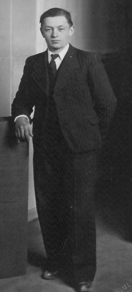 Jan Kuta / my grandfather Photo taken in France